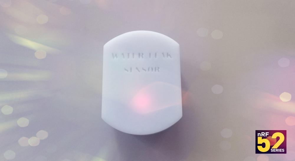 Беспроводной датчик протечки воды на nRF52832, DIY проект