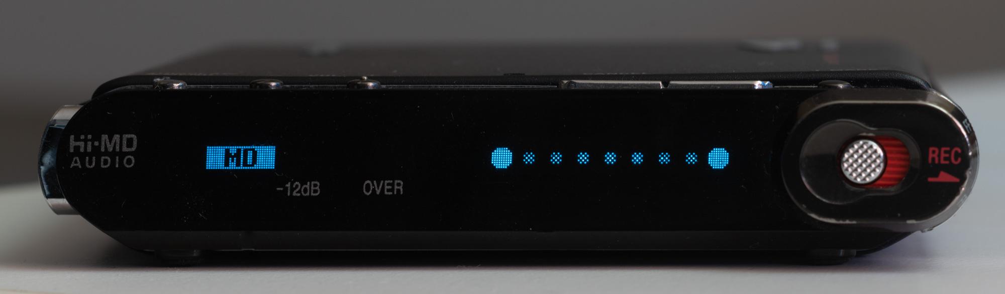 Sony MZ-RH1  последний минидисковый рекордер