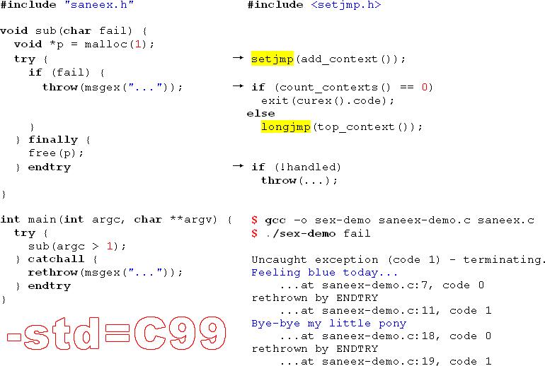 saneex.c: try/catch/finally на базе setjmp/longjmp (C99) быстрее стандартных исключений C++¹ — IT-МИР. ПОМОЩЬ В IT-МИРЕ 2021