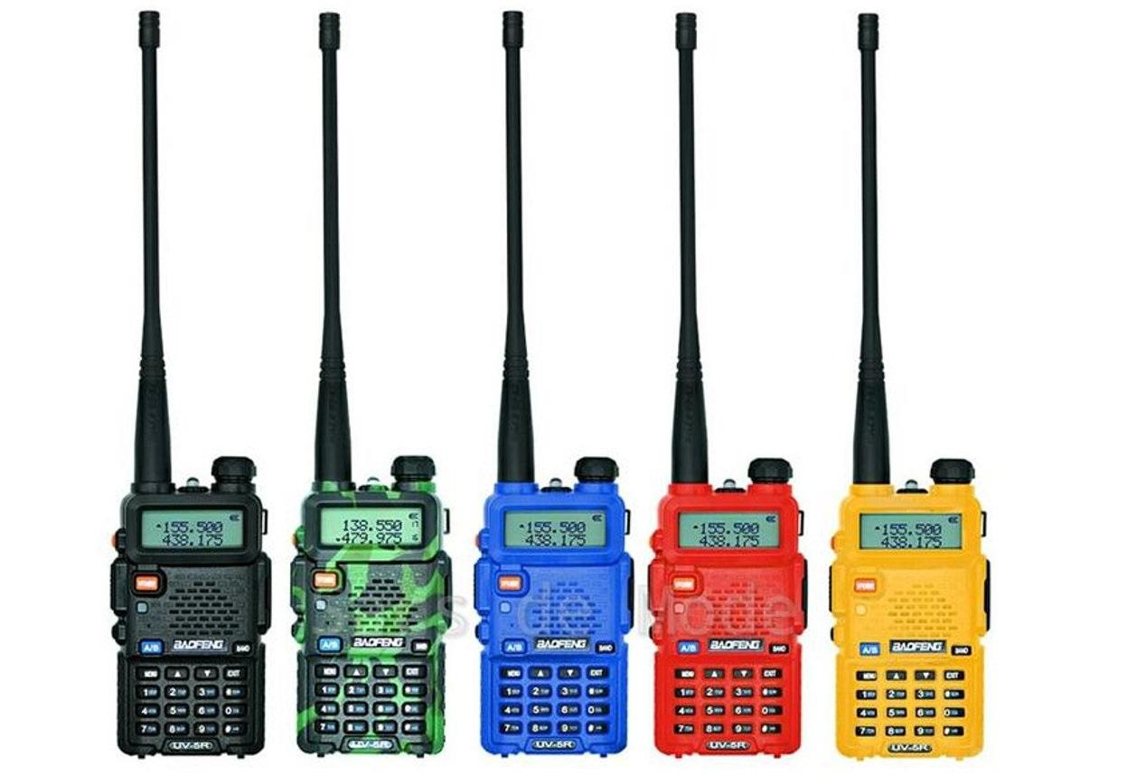 Популярные бюджетные носимые радиостанции