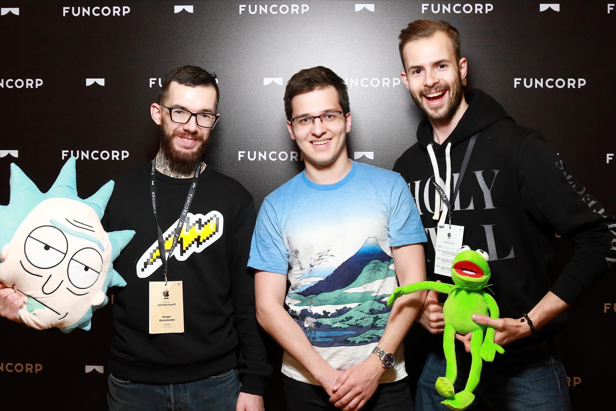 Видео докладов с FunTech iOS-meetup #1