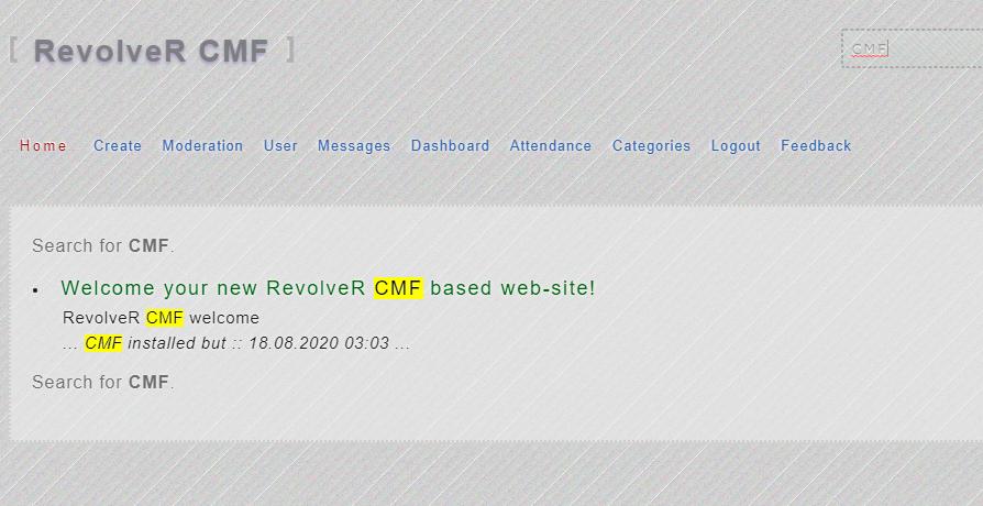 Поисковый сниппет RevolveR CMF