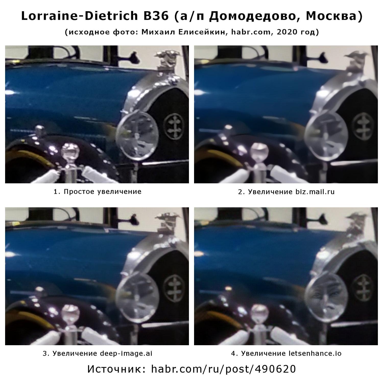 Капот Lorraine-Dietrich B36