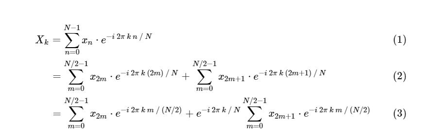 Понимание алгоритма БПФ / Блог компании OTUS  Онлайн-образование / Хабр