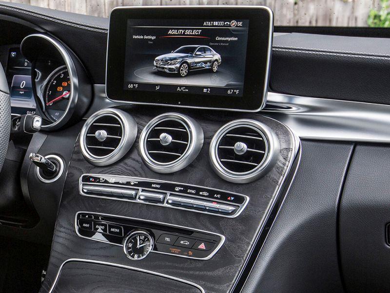 Разработанный UI для платформы NTG5 в Mercedes