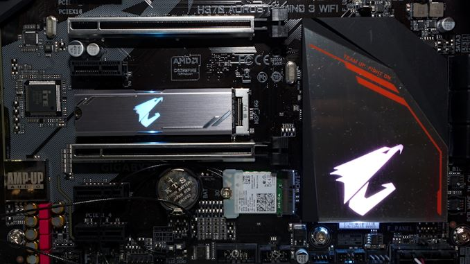 [Перевод] SSD GIGABYTE Aorus RGB M.2: мал, да удал даже для RGB-светодиодов (2 часть)