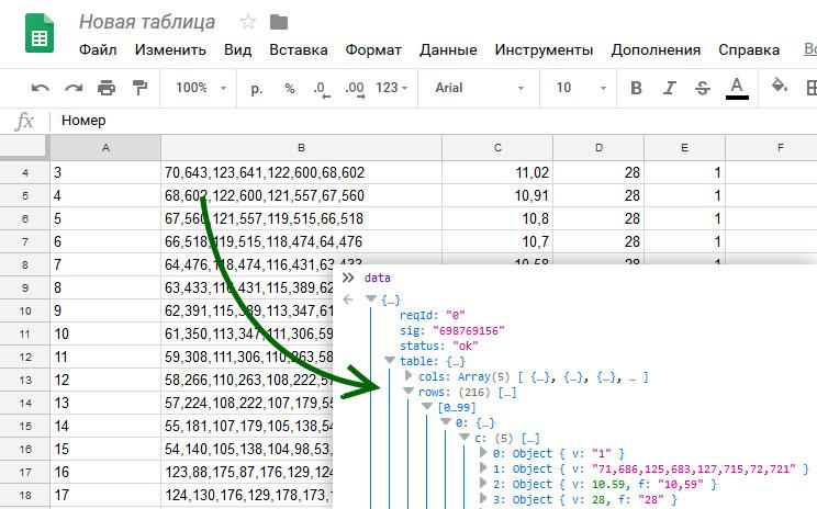 «CMS» на базе Google Spreadsheets для статических сайтов
