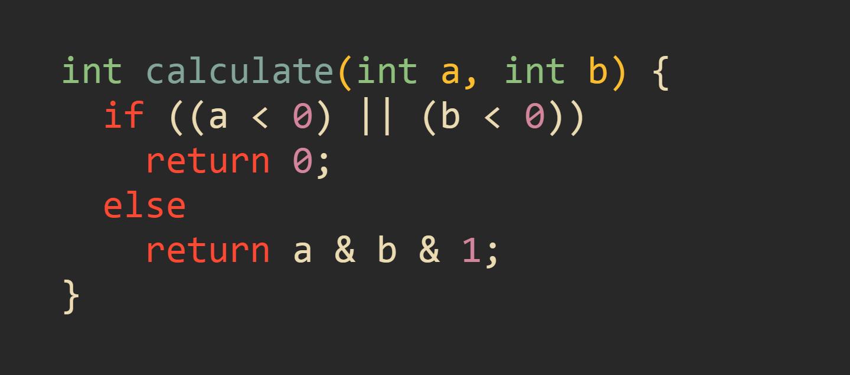 Корректно оптимизированная функция calculate()