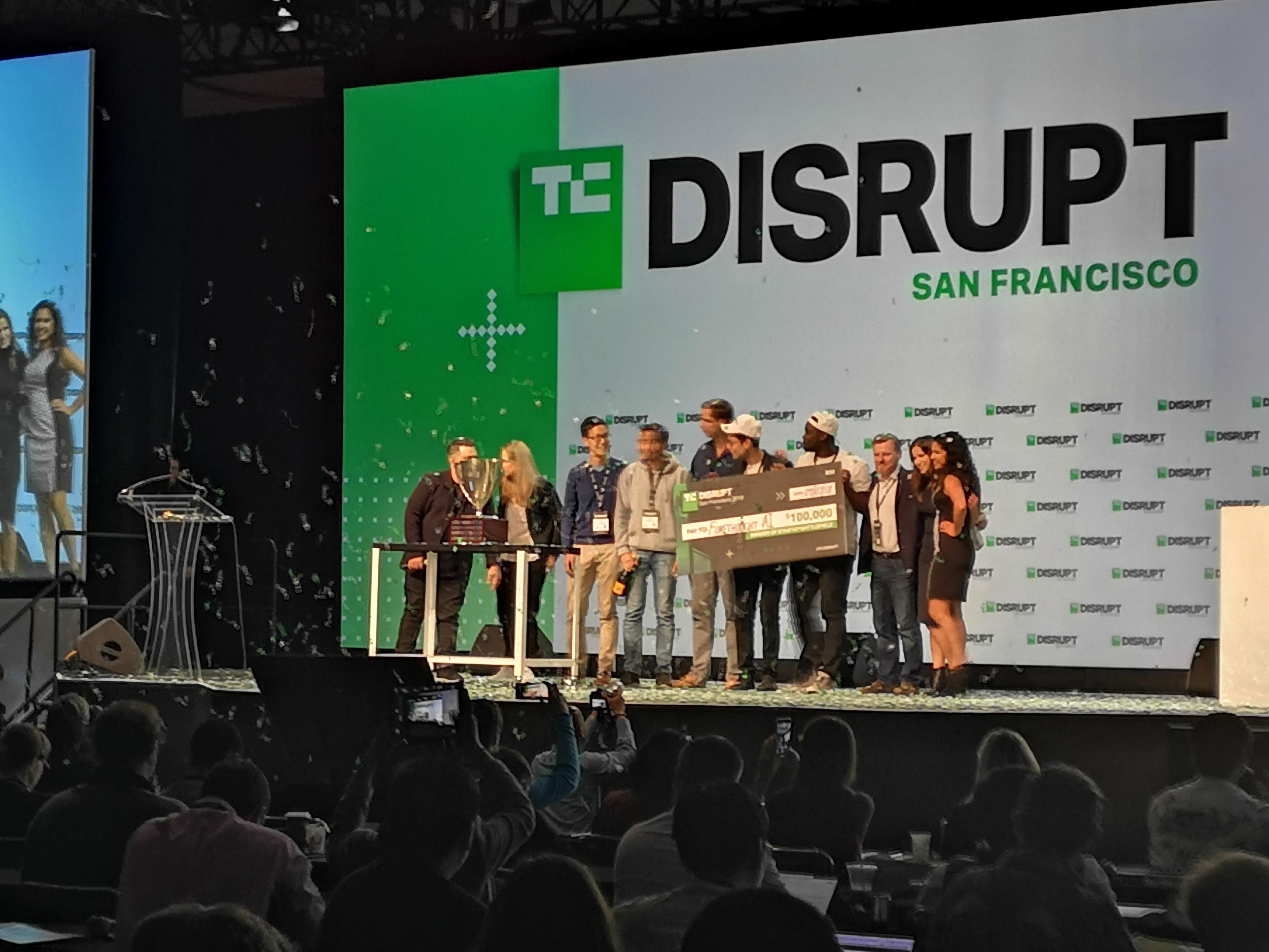 Winners Startup Battlefield TechCrunch Disrupt San Francisco 2018
