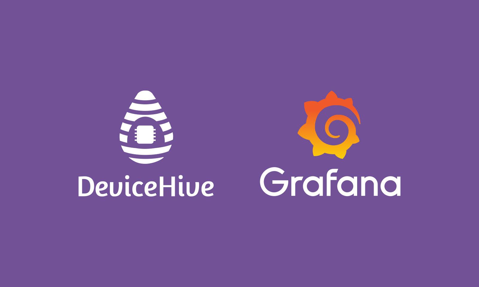 Использование Grafana с IoT-платформой DeviceHive