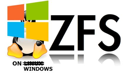 ZFSin: working with ZFS is native to Windows