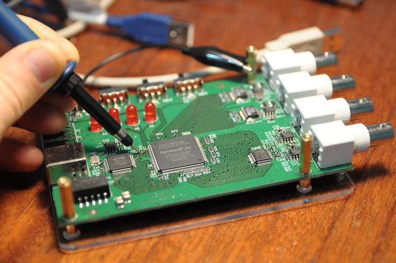 Загрузка конфигурации в ПЛИС через USB