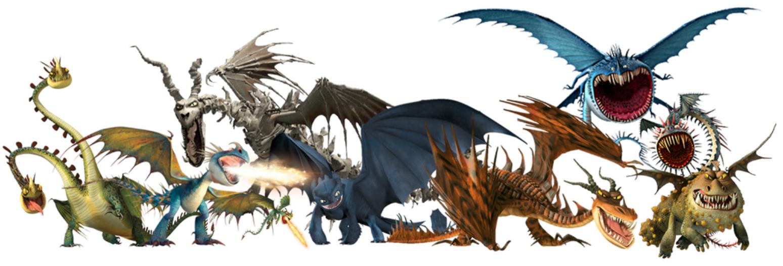 Картинки всех драконов из как приручить дракона с названиями девушки симпатия