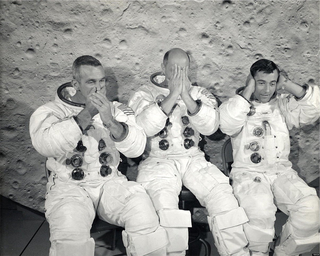 Космический вандализм и юмор в программе «Аполлон»