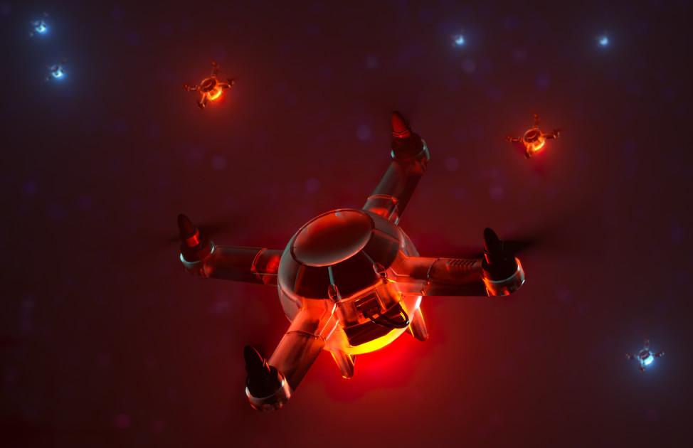Шоу дронов: взгляд изнутри