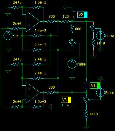 HP-8903A Audio Analyzer, output driver
