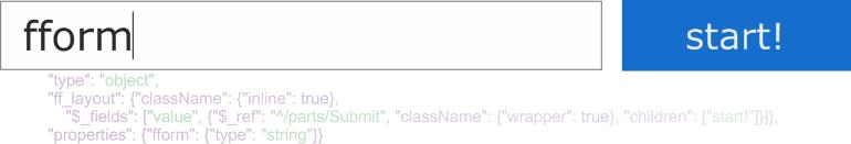 [Из песочницы] fform: React & JSONSchema — максимальная гибкость