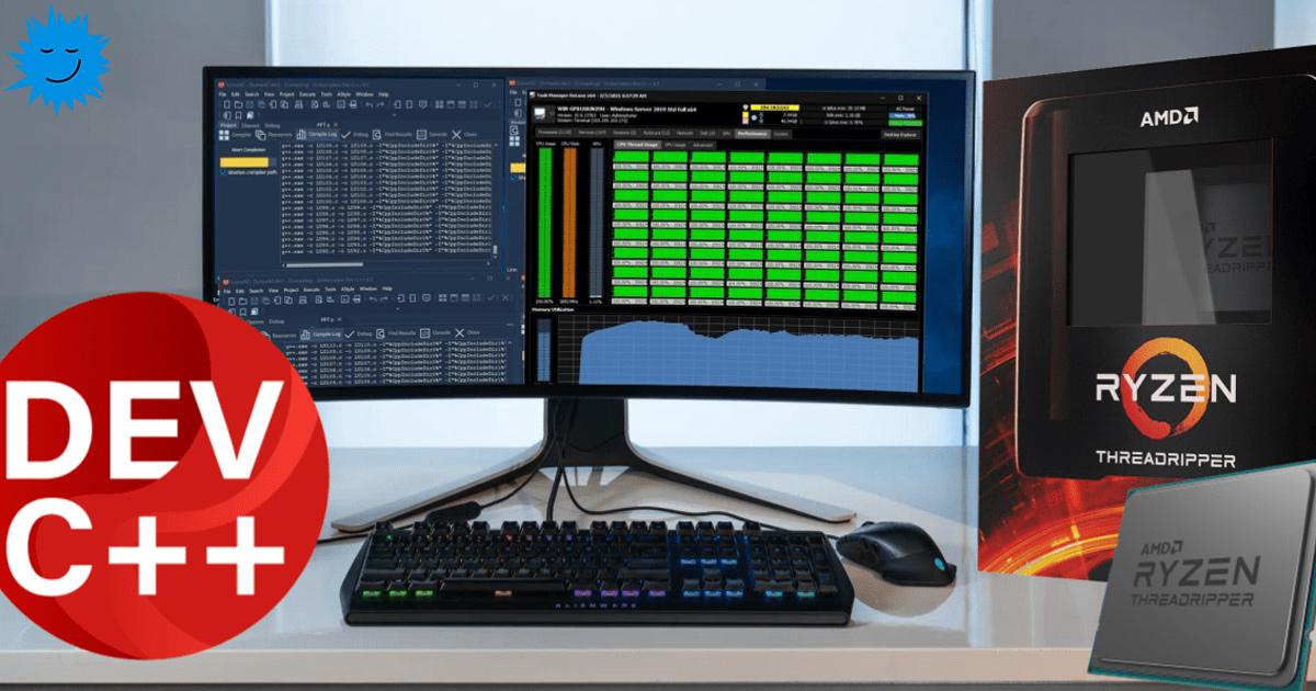Перевод Threadripper 3990X компилируем 1 миллиард строк C на 64 ядрах