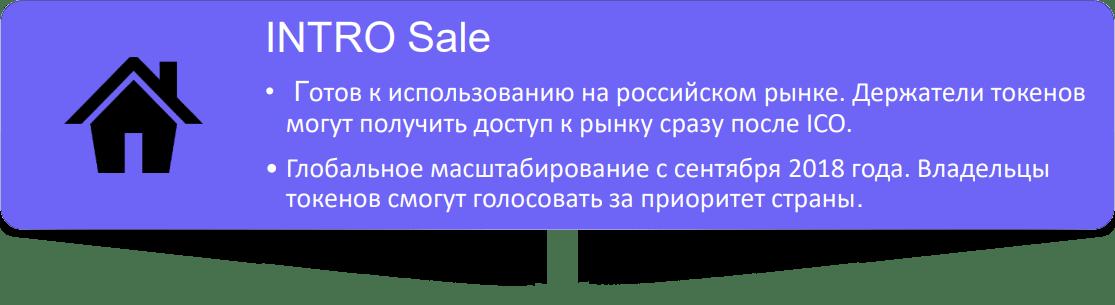 INTRO Sale