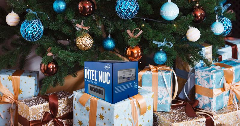 Новогодний конкурс Intel, главный приз — Intel NUC