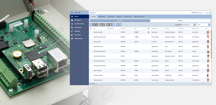 Выбор оборудования для системы контроля доступа