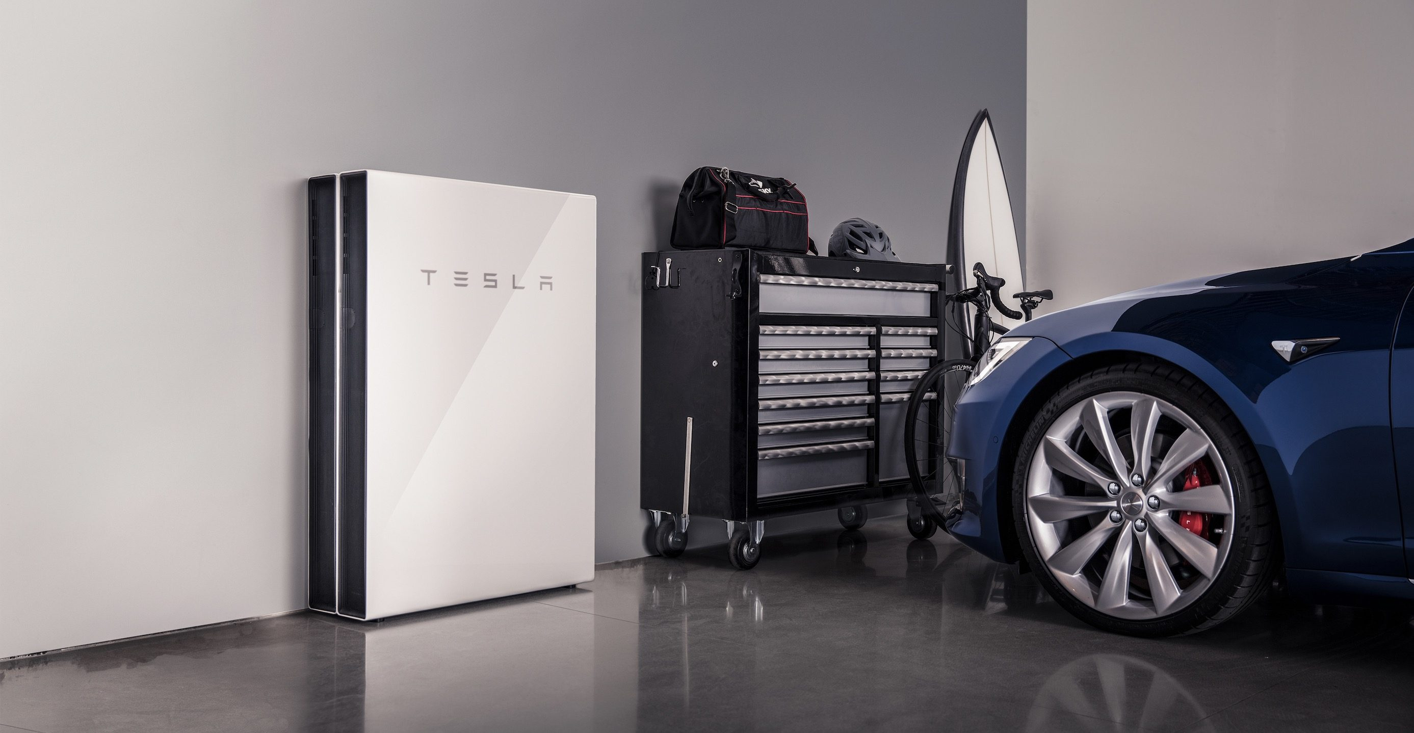 Tesla's virtual powerhouse with rechargeable batteries (Powerwall) expands to ?000 homes in Australia