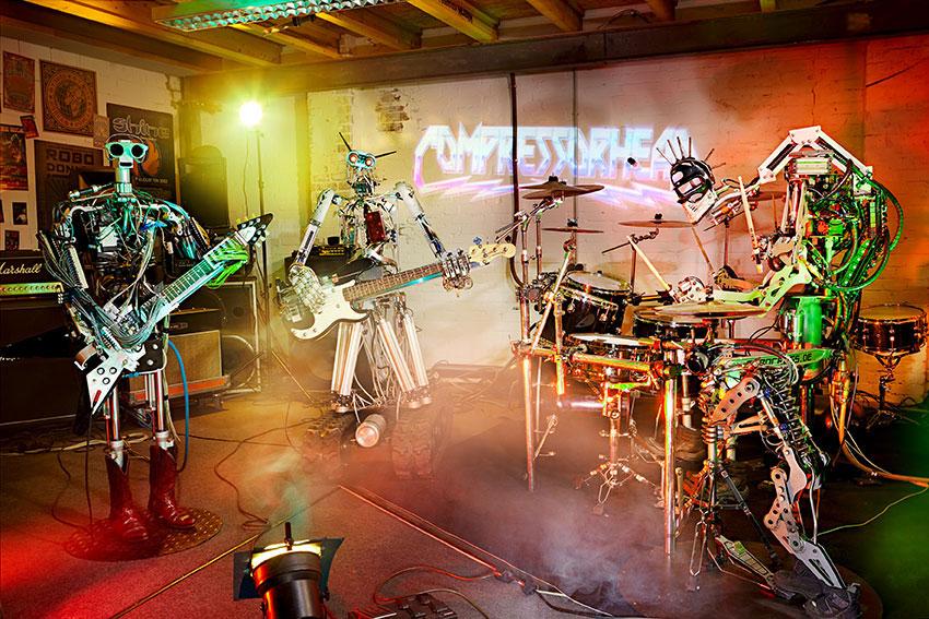 роботы музыканты