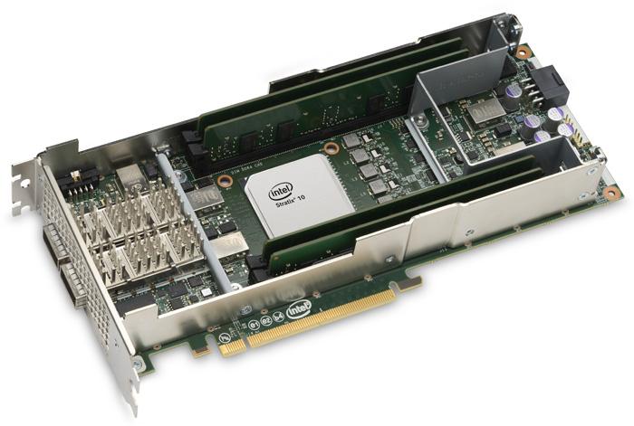 Intel PAC c FPGA Stratix 10 SX — ускоритель для больших задач