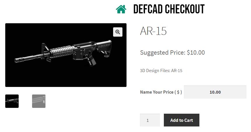 Суд запретил свободное распространение оружейных CAD-файлов, поэтому создатель начал продавать их