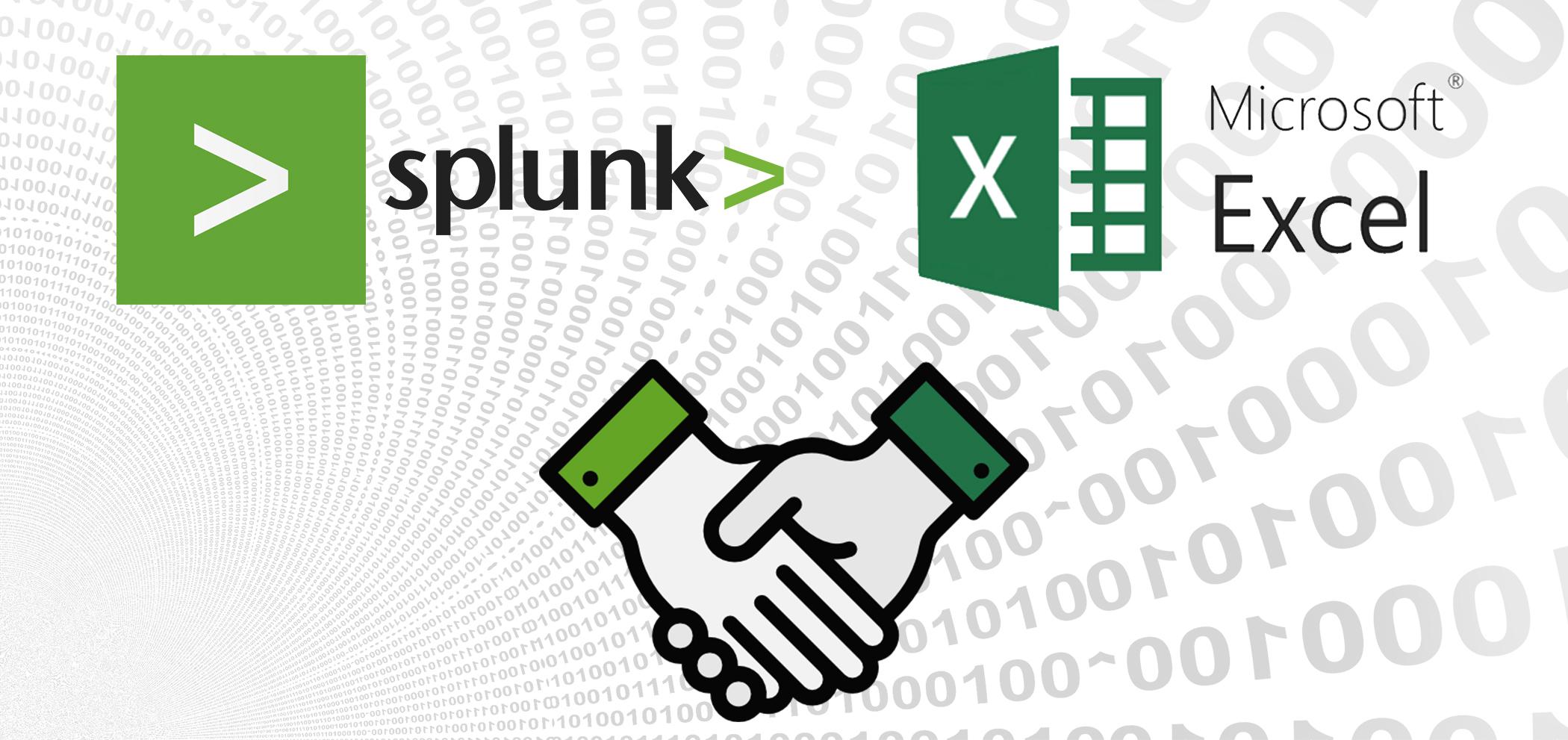 Splunk + Excel. Что получится?