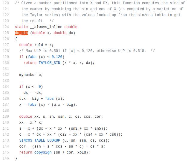 Точные и быстрые вычисления для чисел с плавающей точкой на примере функции синуса. Часть 3 fixed-point