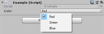 Simplify drawing Enum Flags in Unity
