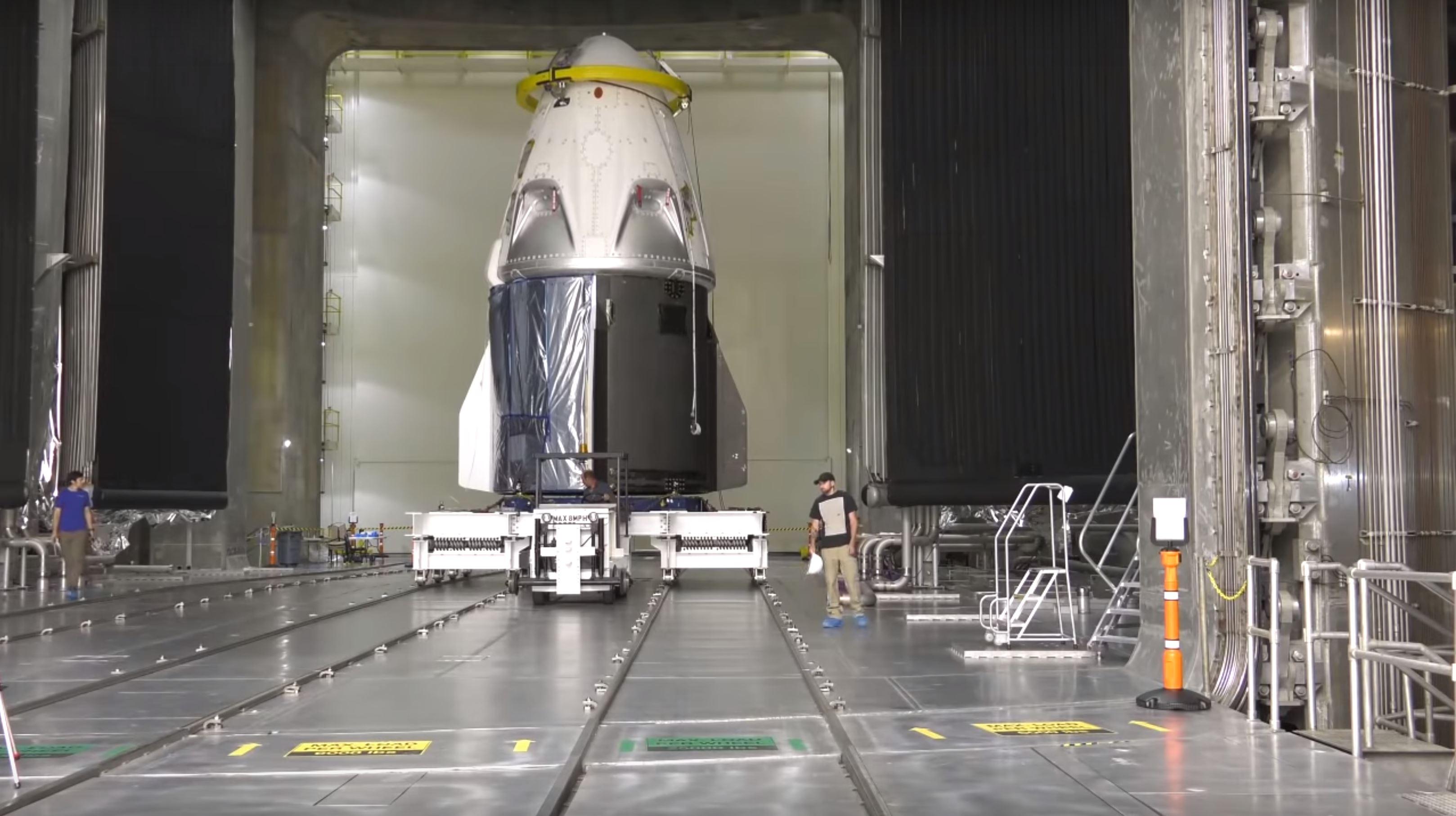 [Перевод] SpaceX и NASA вновь подтвердили свои намерения произвести дебютный запуск корабля Crew Dragon в январе 2019 года