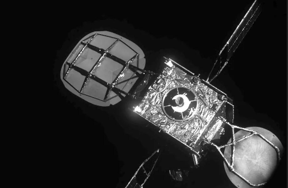 Вид на спутник Intelsat 901