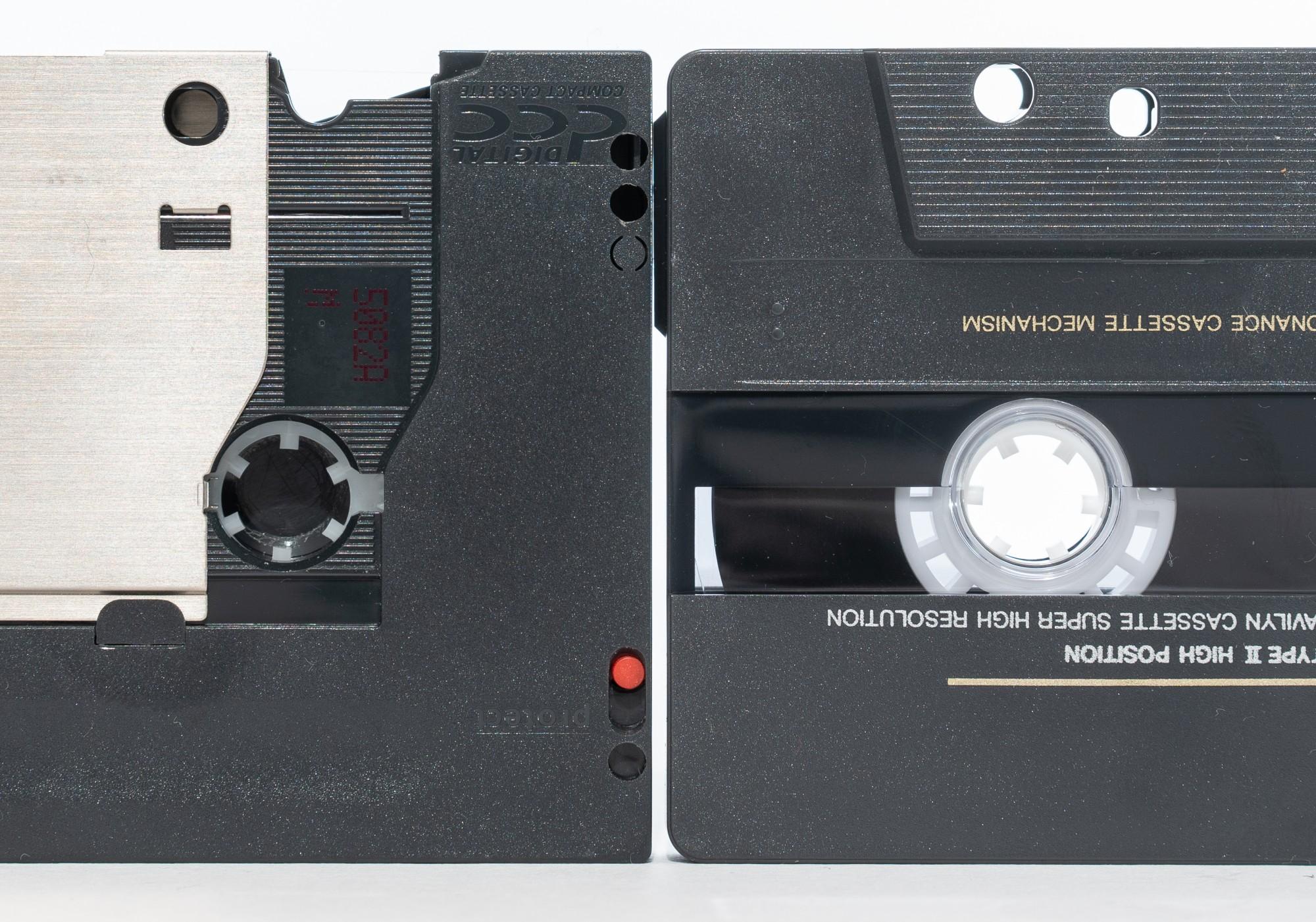 Древности: цифровая кассета как аудиофильский формат
