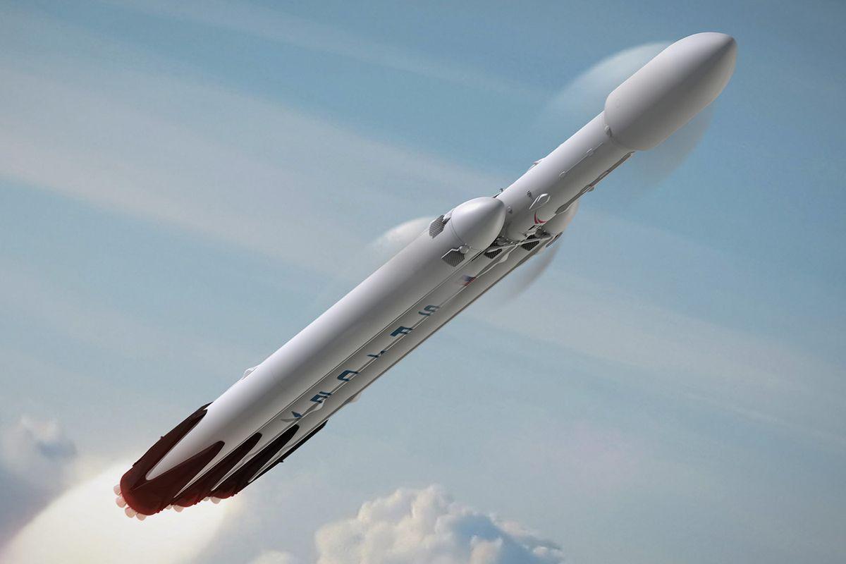 Электромобиль в нагрузке январского испытания Falcon Heavy оказался шуткой