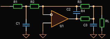 Third Order In-The-Loop Low-pass Filter