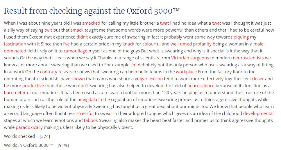 Сколько английских слов надо выучить для свободного общения и чтения статей? (спойлер: 3000)