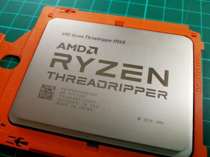 [Перевод] Обзор AMD Ryzen Threadripper 1950x и 1920x: CPU на стероидах