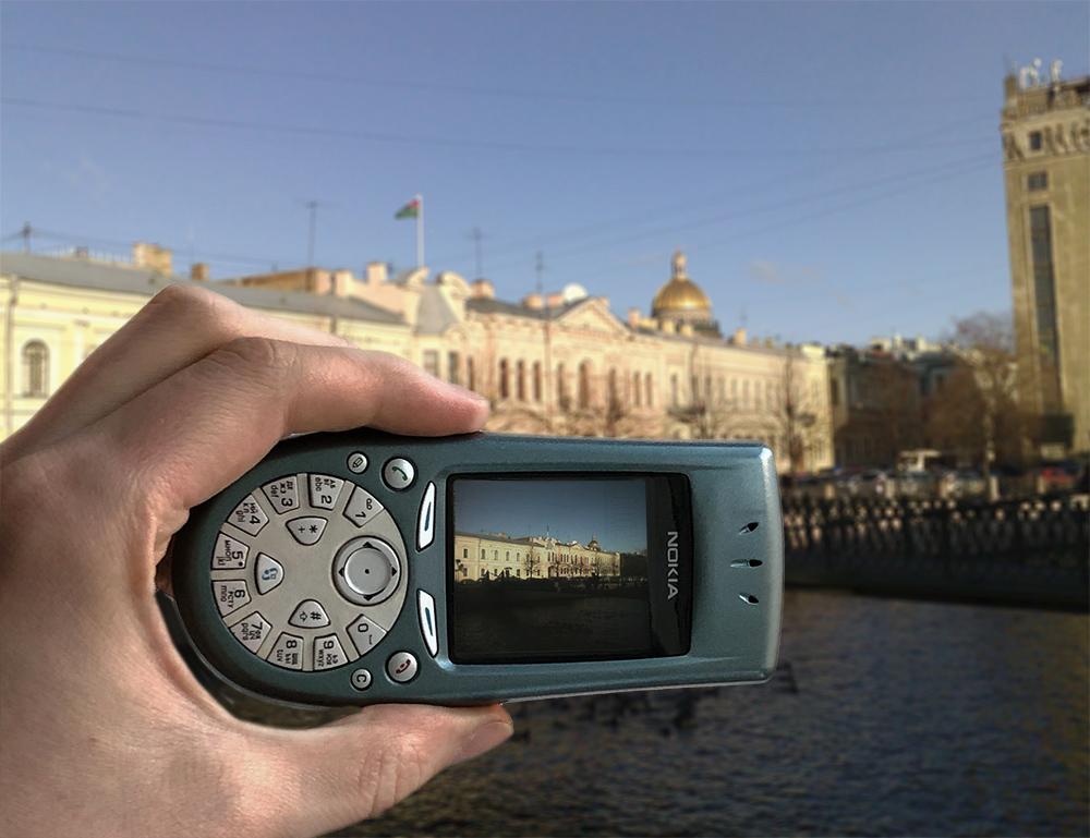 Назад в будущее мобильных телефонов. Камеры