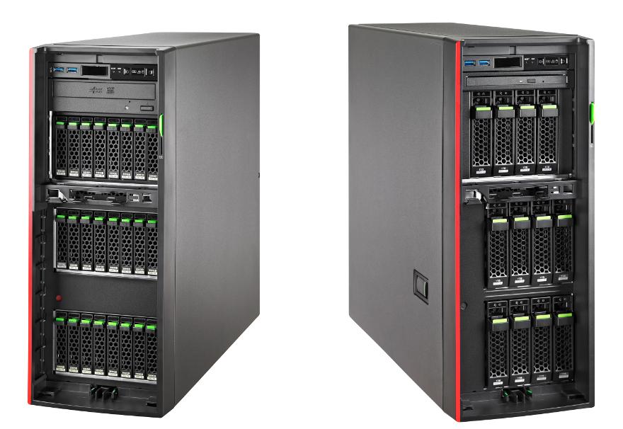 Обзор напольного сервера Fujitsu PRIMERGY TX1330 M3
