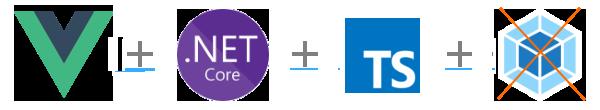 Приложение Vue.js + Asp.NETCore + TypeScript без Webpack