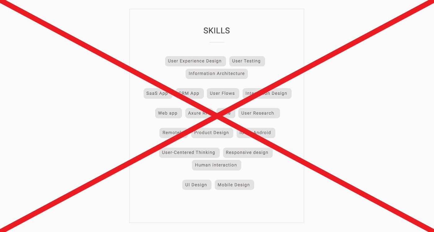 Tips and tricks for UX designer portfolio