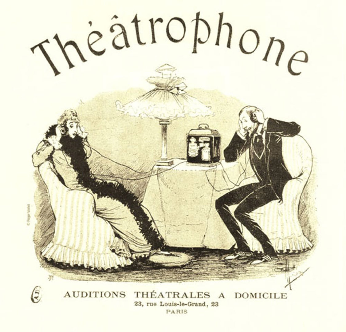 Спотифай XIX века как королева Виктория слушала театр по телефону