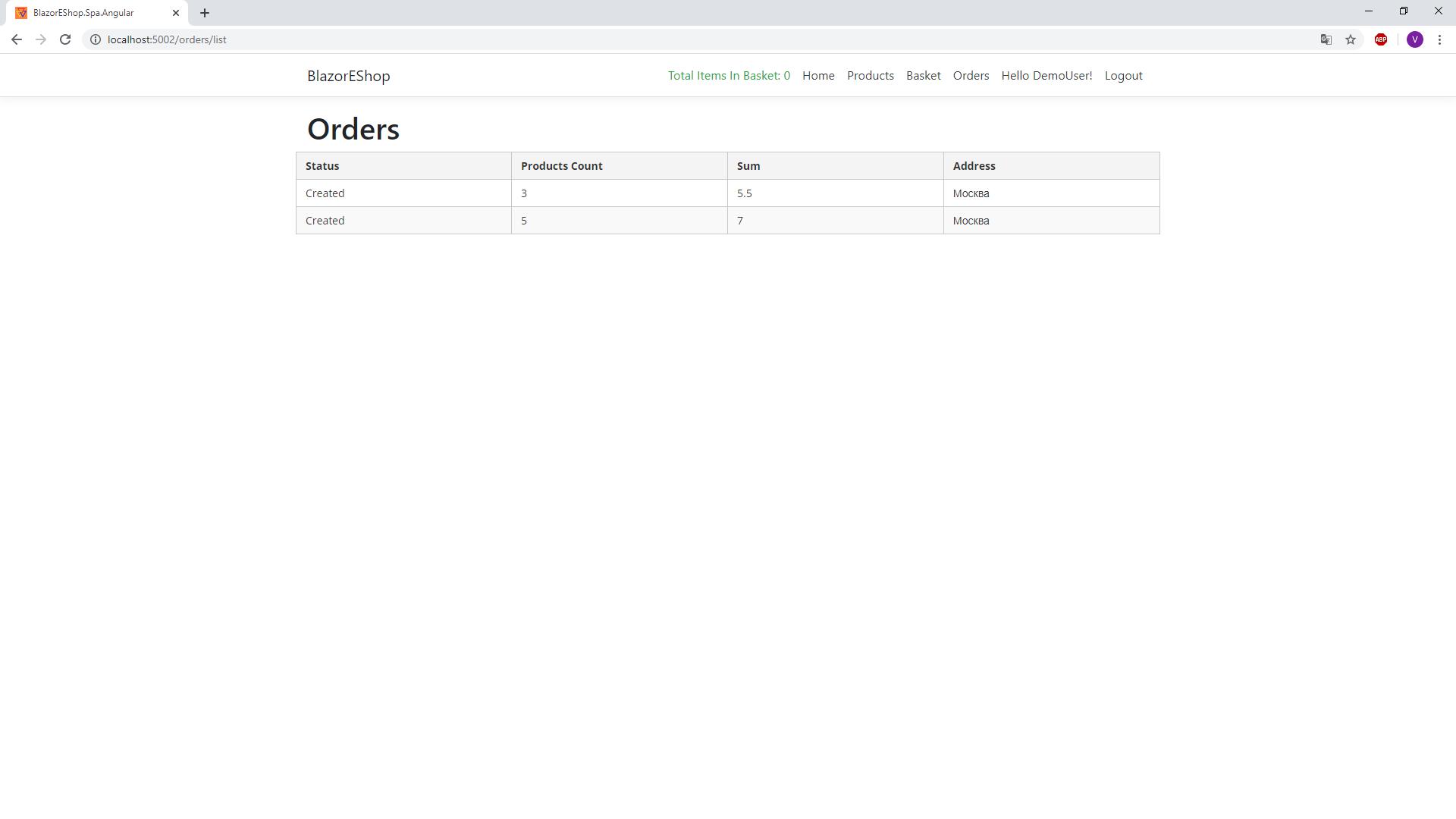 Blazor Client Side Интернет Магазин: Часть 6 — Создание заказа и работа с компенсирующими действиями — IT-МИР. ПОМОЩЬ В IT-МИРЕ 2020