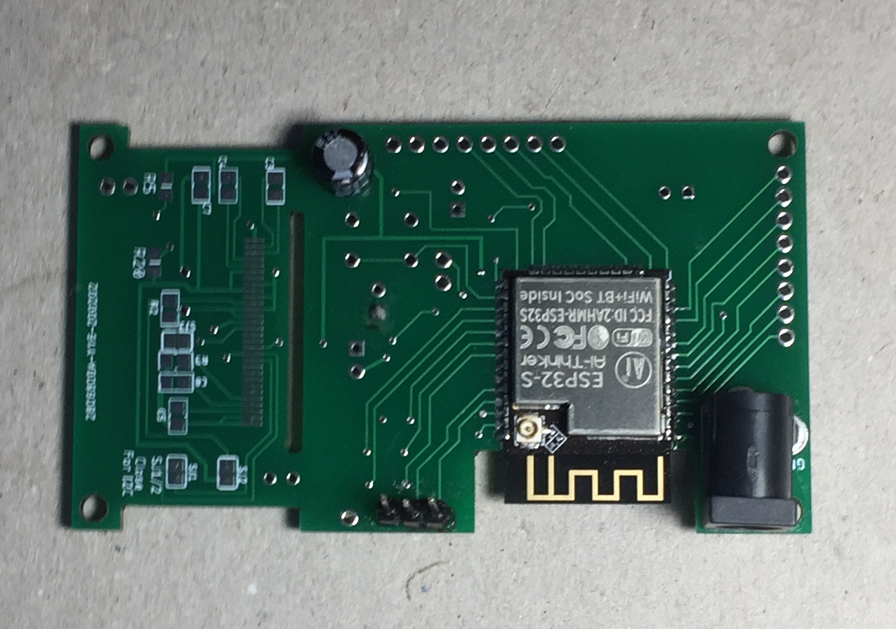ESP32 development board с кастомным дизайном