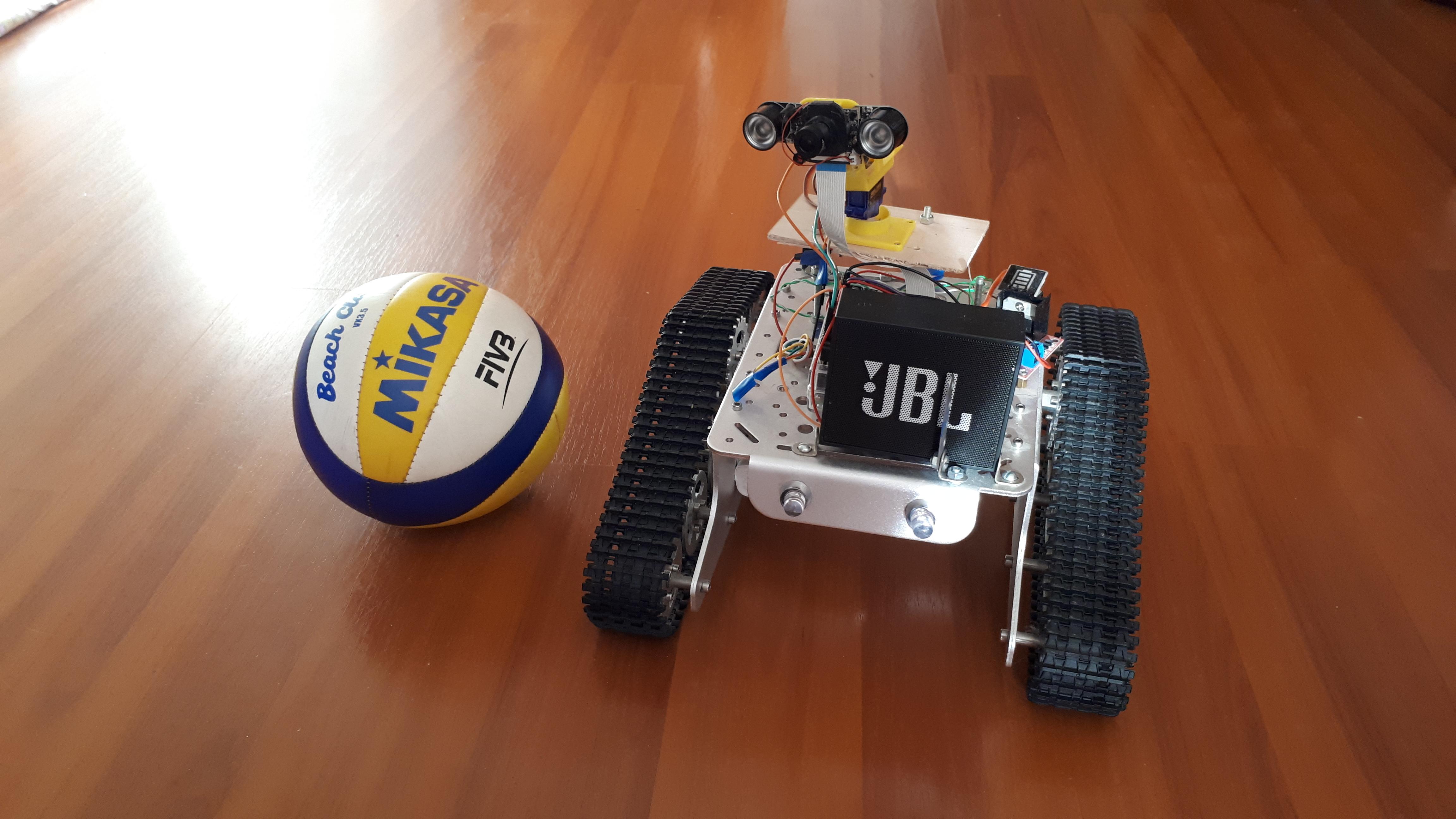 Сделать робота на raspberry pi, обновленный pi-tank. Часть 2. Софт