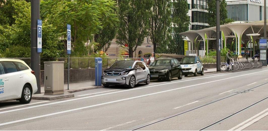 City2Share: е- и автономомобили в логистических узлах Мюнхена