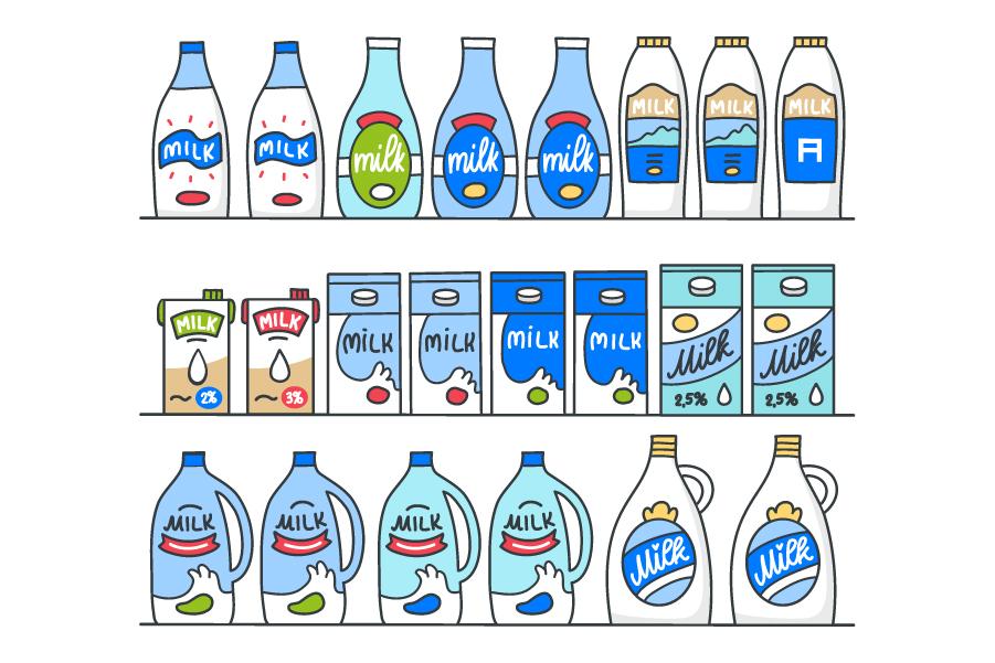 Веб-кэширование на примере покупки молока в магазине