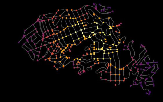 Визуализация дорожной сети